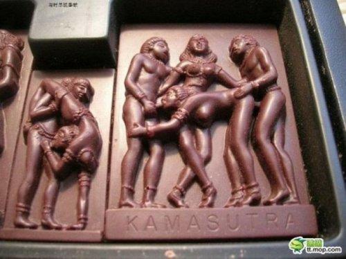 Шоколадная Камасутра (6 фото)