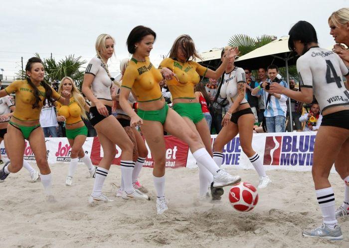 Матч порнозвезд. Германия - Австралия (20 фото) НЮ