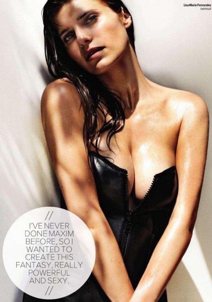 Фотосессия Лэйк Белл в журнале Maxim (9 Фото)
