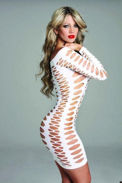 Обтягивающие платья (55 фото)