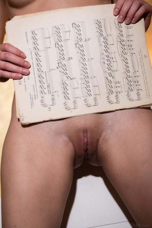 Голая учительница музыки (16 фото)